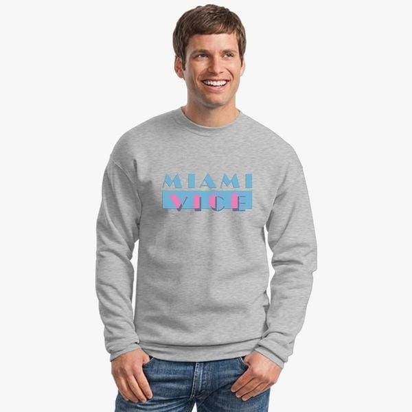 40aaa96bb Miami Vice Crewneck Sweatshirt - Customon