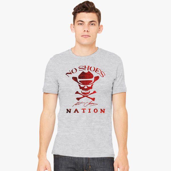 88094679c Kenny Chesney No Shoes Nation New Logo Men's T-shirt - Customon