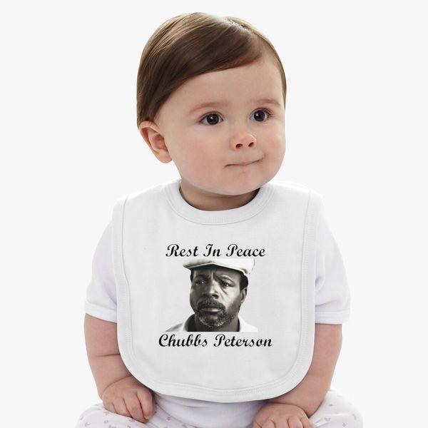 8e8c4e1b Rest In Peace Chubbs Peterson Happy Gilmore Baby Bib - Customon