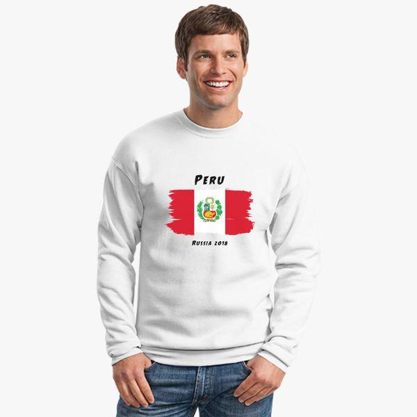 4a0303466ad Peru world cup 2018 Crewneck Sweatshirt - Customon