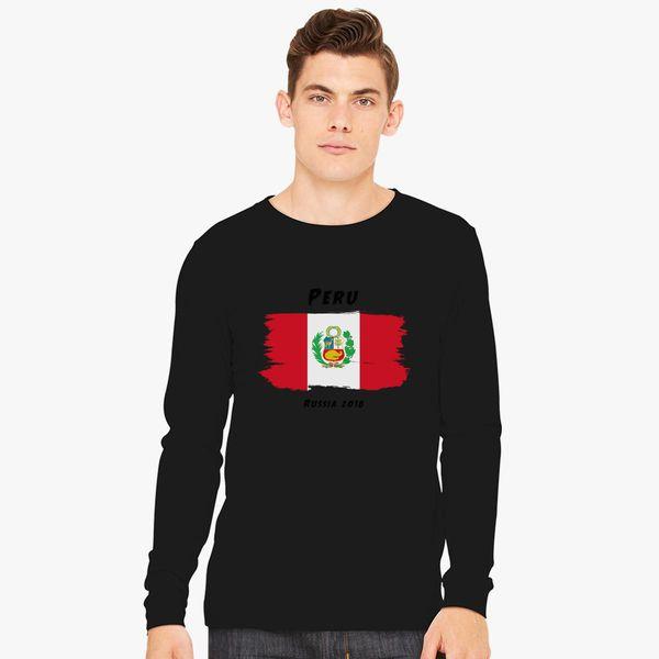 8f3fa1e8b29 Peru world cup 2018 Long Sleeve T-shirt - Customon