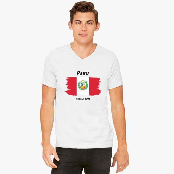 d6607debf77 Peru world cup 2018 V-Neck T-shirt - Customon