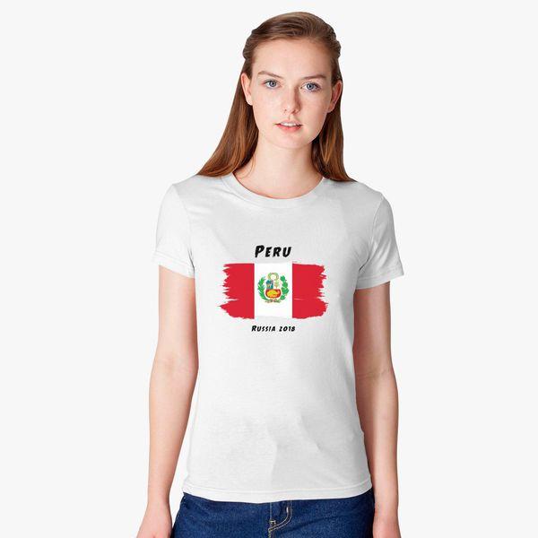 c2480e6b722 Peru world cup 2018 Women's T-shirt - Customon