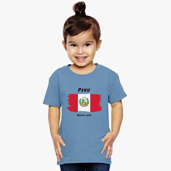 7dad8d783b1 Peru world cup 2018 Toddler T-shirt - Customon