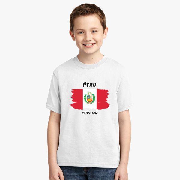 64de32d9660 Peru world cup 2018 Youth T-shirt - Customon