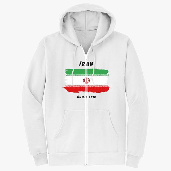 8995fec62 Iran world cup 2018 Unisex Zip-Up Hoodie - Customon