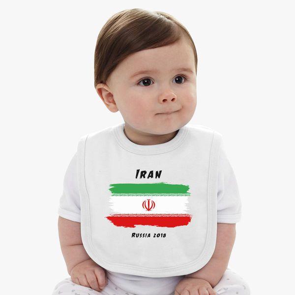Iran world cup 2018 Baby Bib  c9b8018af