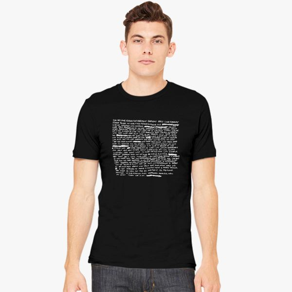 a4ea9fd34d52 XXXTENTACION revenge lyric 2 Men's T-shirt - Customon