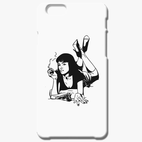 Pulp Fiction Mia Wallace 2 iphone case
