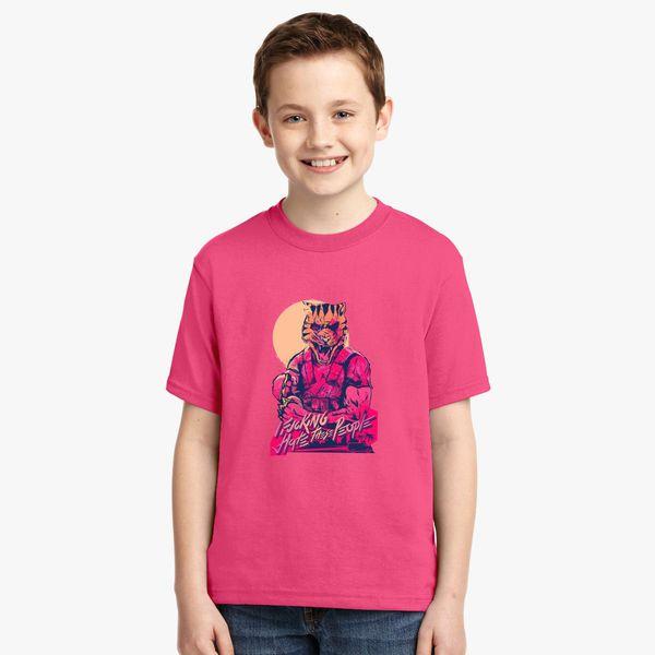 Hotline Miami T-Shirts for Women Men Girl Boys Cute