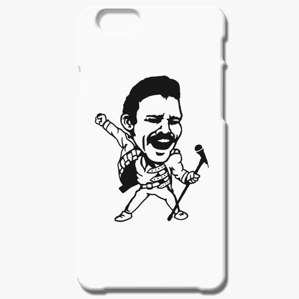 92a07af8d6af5 Funny Freddie Mercury iPhone 6 6S Case - Customon