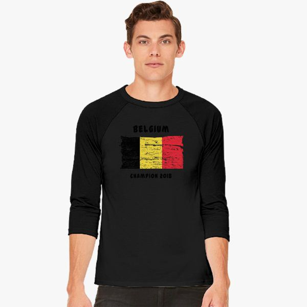 a978295c6 Belgium fifa world cup 2018 Baseball T-shirt - Customon