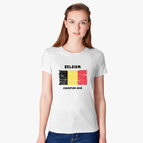12338f7aa Belgium fifa world cup 2018 Women s T-shirt - Customon