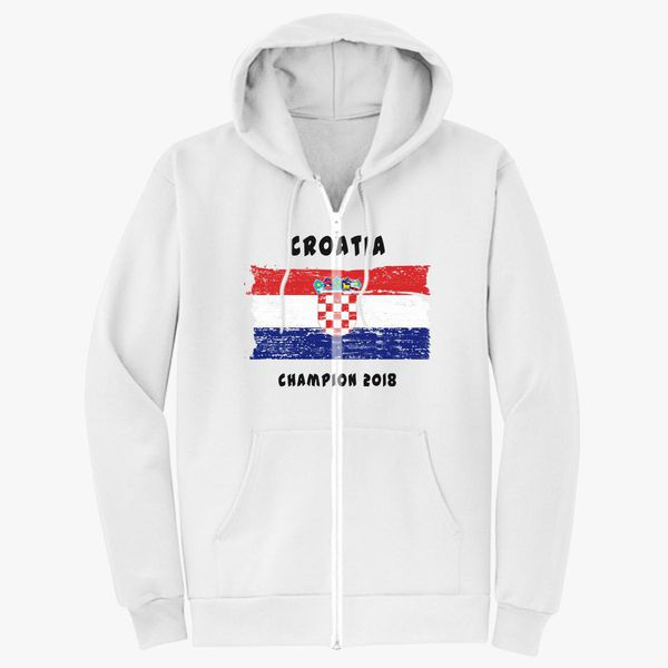 958b458a701 Croatia fifa world cup 2018 Unisex Zip-Up Hoodie - Customon