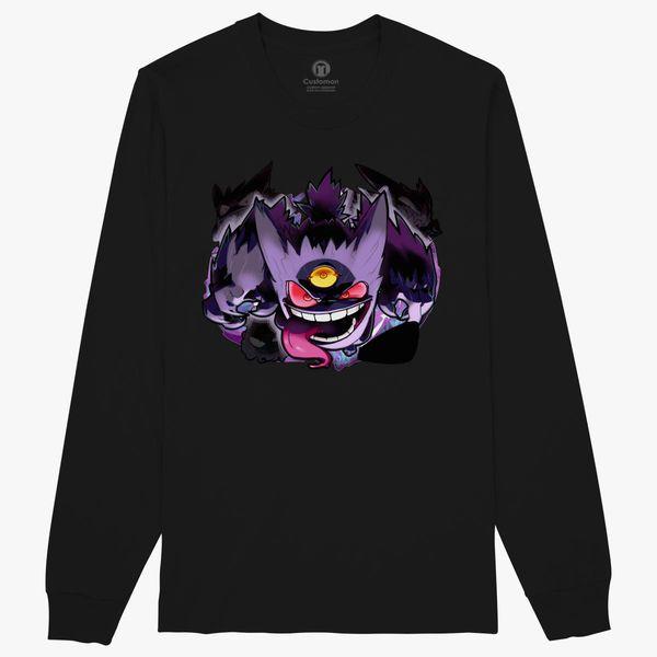 d5d7c067 Ghost Pokemon Game Long Sleeve T-shirt