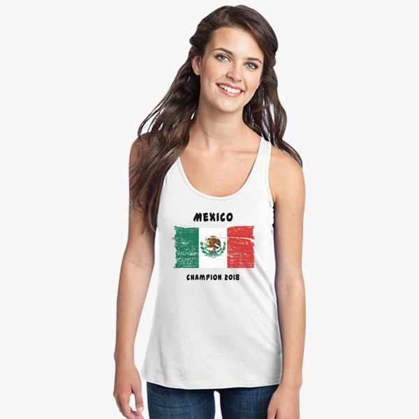 47ab21ed6 Mexico fifa world cup 2018 Women s Racerback Tank Top - Customon