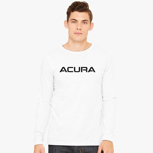 Acura Logo Long Sleeve Tshirt Customoncom - Acura shirt