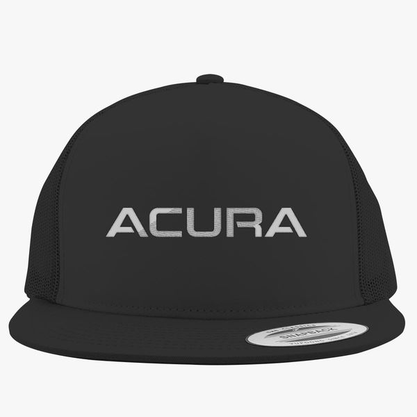Acura Logo Trucker Hat Embroidered Customoncom - Acura hat