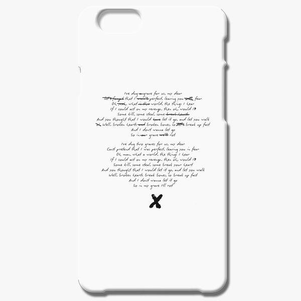 info for a4db7 e50db XXXTENTACION iPhone 6/6S Plus Case - Customon