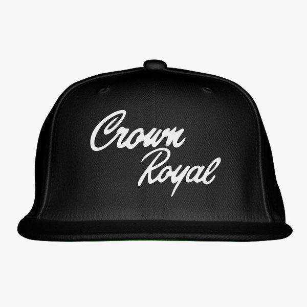 078e2e2e91 Crown Royal Snapback Hat - Customon