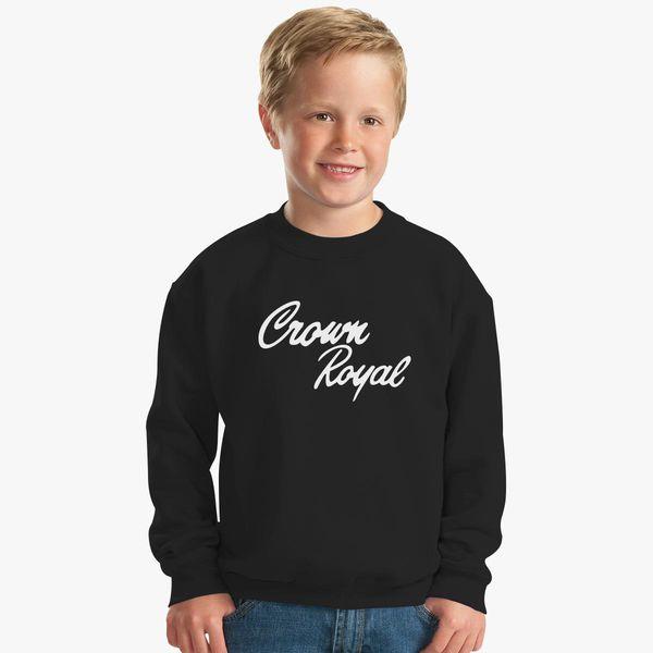 89105f3890 Crown Royal Kids Sweatshirt - Customon