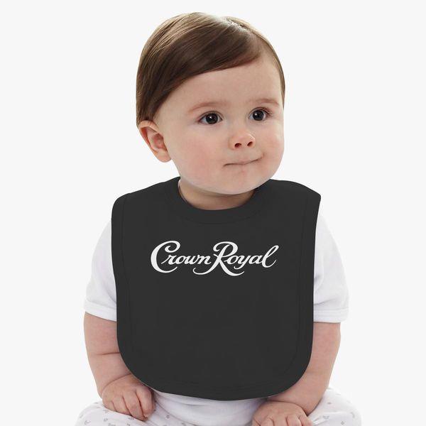0643e93418 Crown Royal Baby Bib | Customon.com
