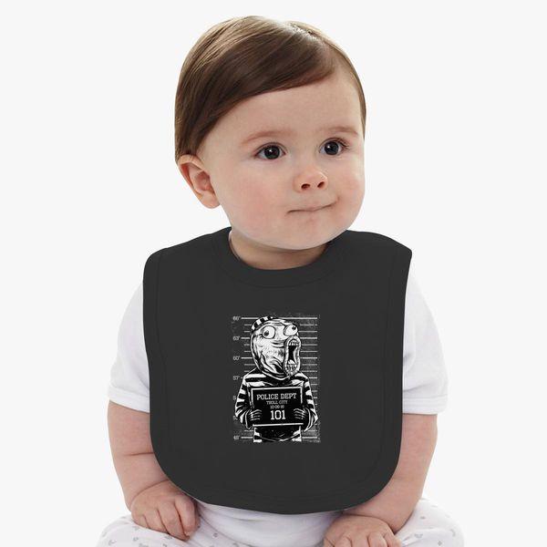 LOL Mugshot Baby Bib - Customon