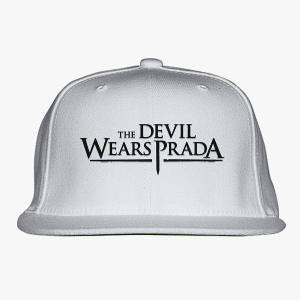66b26bc464b The Devil Wears Prada Logo Snapback Hat