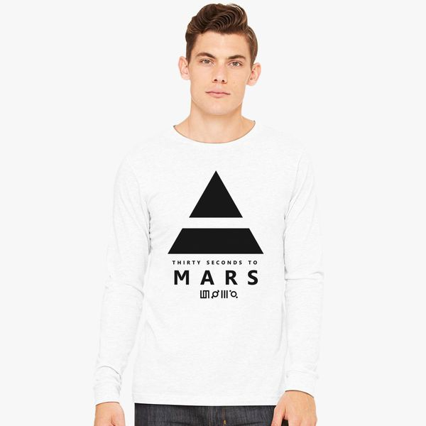b1ad2622 30 Seconds to Mars Long Sleeve T-shirt - Customon
