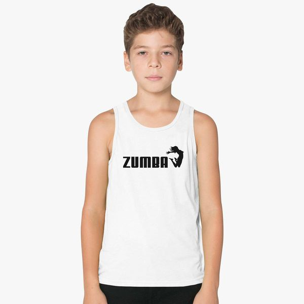 Zumba T Shirt Kids Tank Top Customon