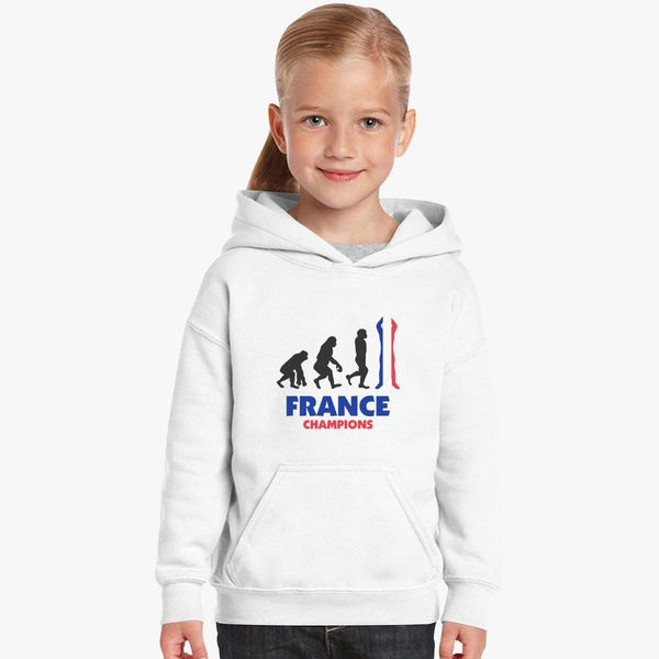 deea5c361250 France World Cup Champions Kids Hoodie - Customon