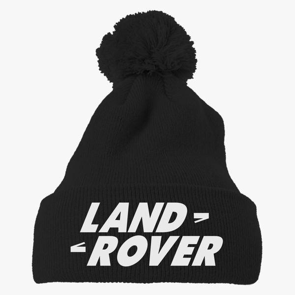 Land Rover Logo Cap: Land Rover Knit Pom Cap