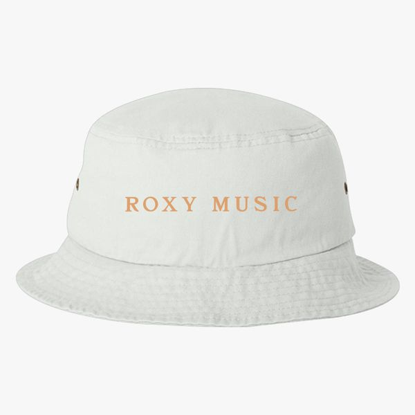 8993561c8c98e Roxy Music Logo Bucket Hat - Customon