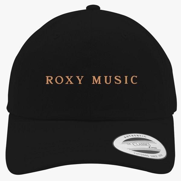 de88a360fc611 Roxy Music Logo Cotton Twill Hat - Customon