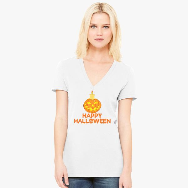 4e9d01b905c4 HALLOWEEN-2 Women's V-Neck T-shirt - Customon