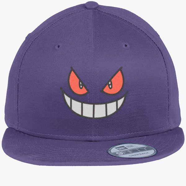 Gengar - Pokemon New Era Snapback Cap (Embroidered)  21d806d9670