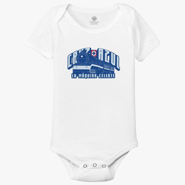 54162f087bf Cruz Azul Baby Onesies - Customon