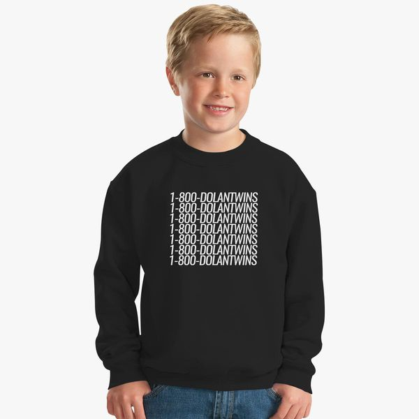 005f28249 1-800-DOLANTWINS Kids Sweatshirt - Customon