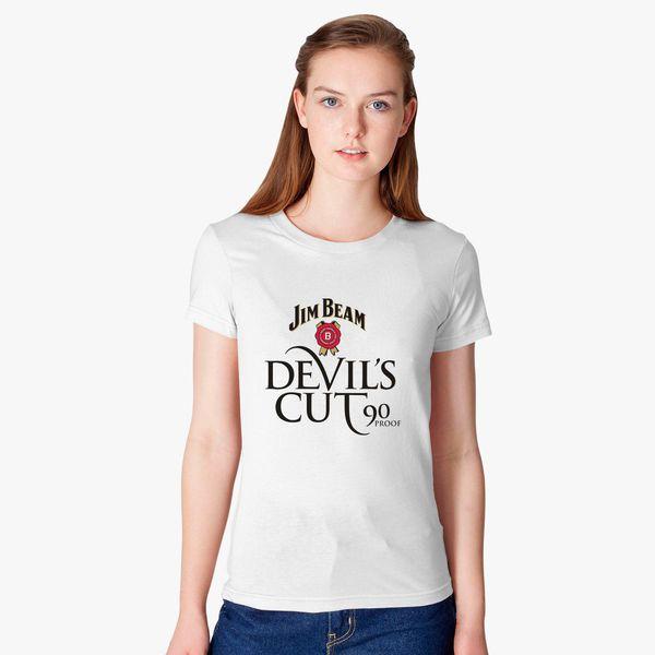 ace553a39aaed8 Jim Beam Devils Cut Women s T-shirt - Customon