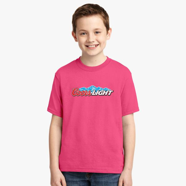 0a43accc4515b Coors Light Beer Youth T-shirt