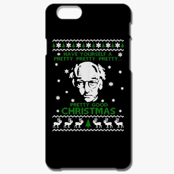 Larry David Pretty Good Christmas Ugly Sweater Iphone 66s Plus Case