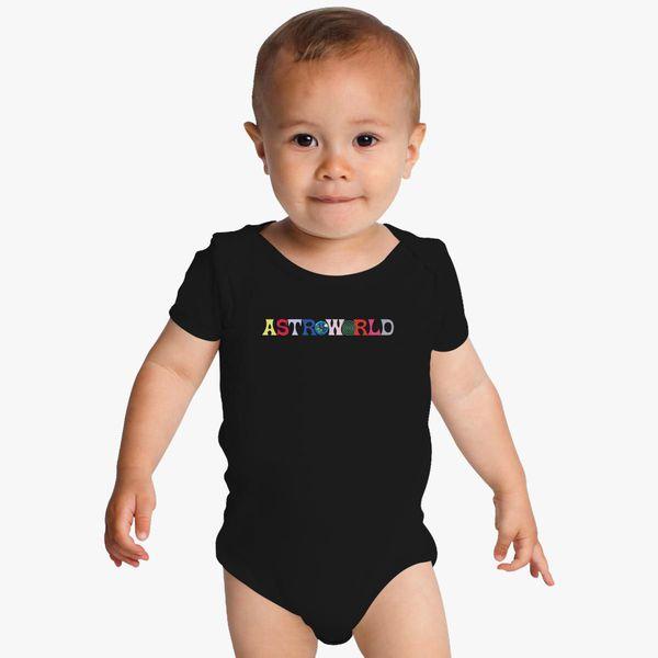 Travis ScottAstroworld Baby Bodysuit