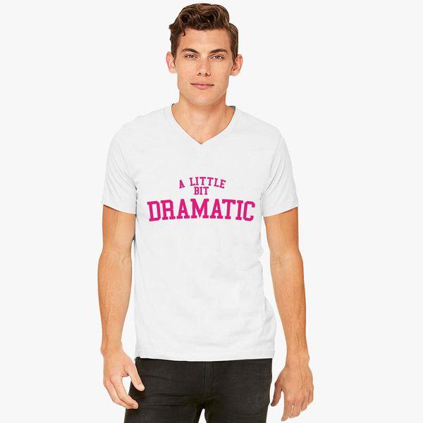 A Little Bit Dramatic Distressed Long Sleeve T-Shirt