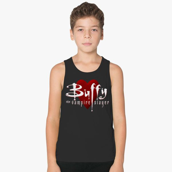 3785704a839434 Buffy The Vampire Slayer Kids Tank Top - Customon