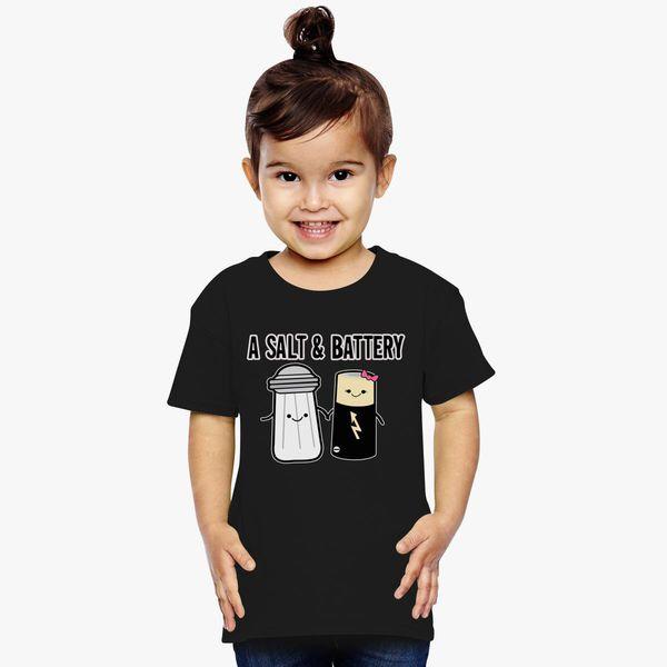 Funny Child Battery Black Toddler T-Shirt