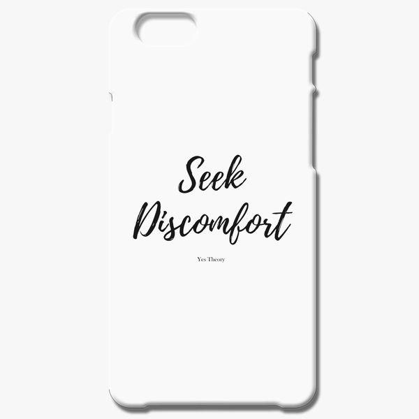Seek Discomfort Yes Theory iPhone 6 6S Case  7c1d37f39ba2