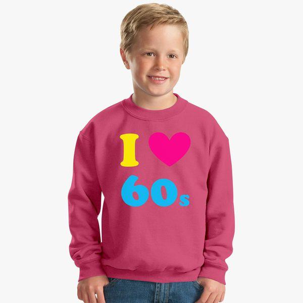 I Love Heart The 60s Kids T-Shirt