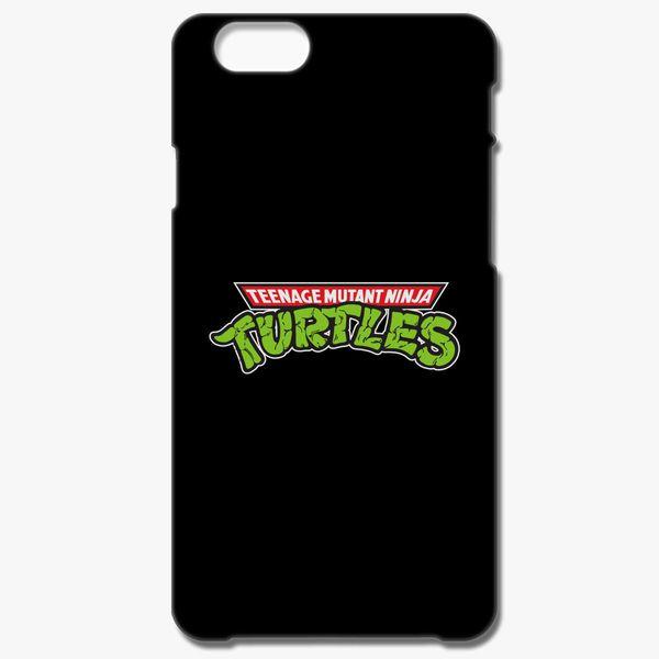 teenage mutant ninja turtles logo iphone case