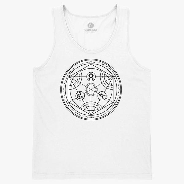 Anime Fullmetal Alchemist Brotherhood Symbol Kids Tank Top Customon
