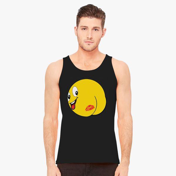 8a3e53434 Kiss My Ass Emoji Men's Tank Top - Customon